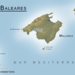 Balearerna Topografisk
